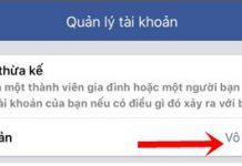 khoa tai khoan facebook tren dien thoai samsung