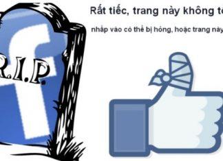 lấy lại nick facebook bị rip