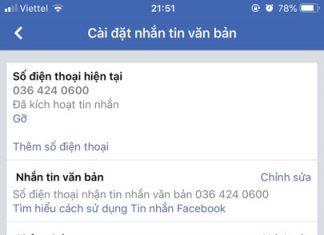 cach xoa so dien thoai cu tren facebook