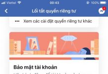 doi mat khau facebook tren iphone