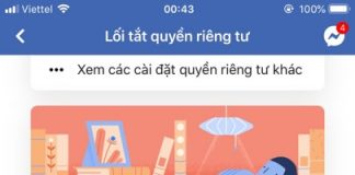 doi mat khau facebook tren iphone