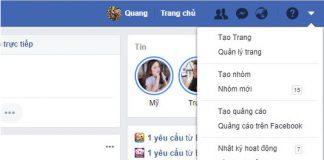 doi ten facebook tren may tinh