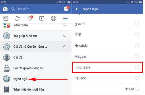 doi ten facebook 1 chu tren dien thoai iphone