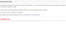 cach khac phuc facebook bị chan like
