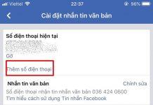 cach doi ten dang nhap facebook bang so dien thoai