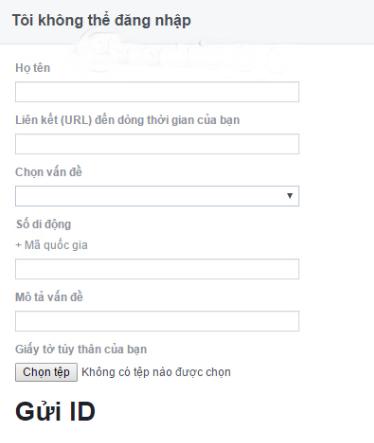 lay lai facebook bi mat email dang ky
