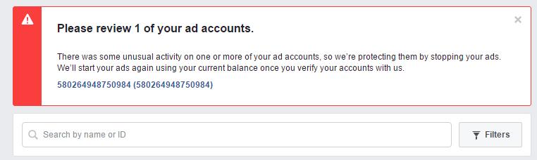Cách chạy quảng cáo facebook không bị khóa