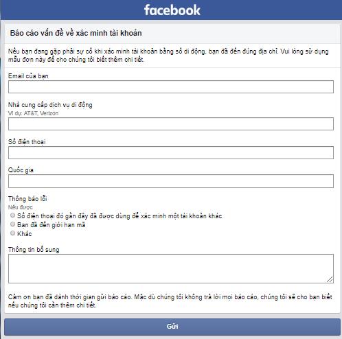 lay lai facebook bi mat so dien thoai