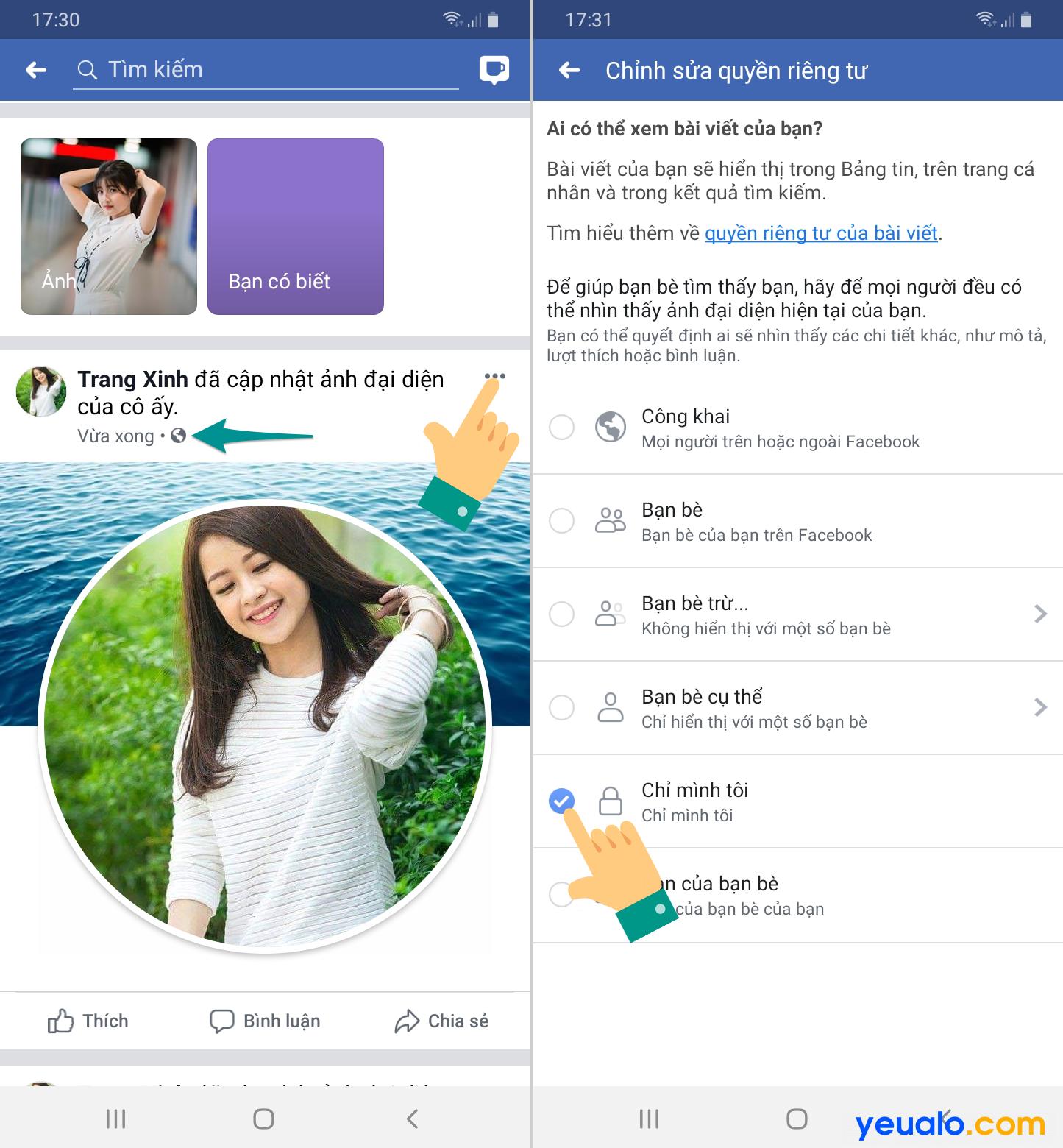 bảo vệ tài khoản facebook không bị rip 3