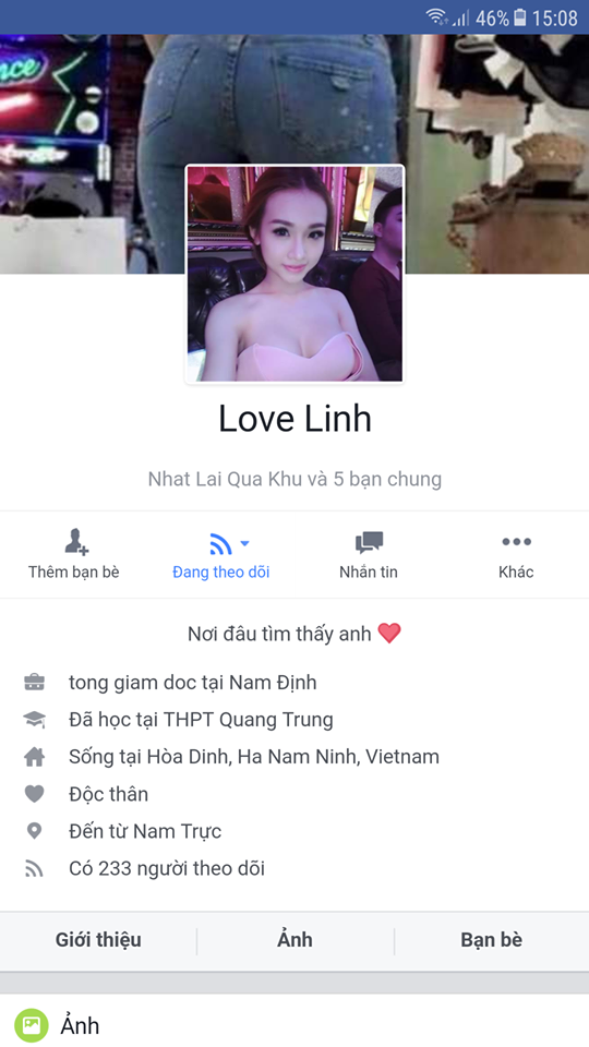 cach bat nut theo doi facebook