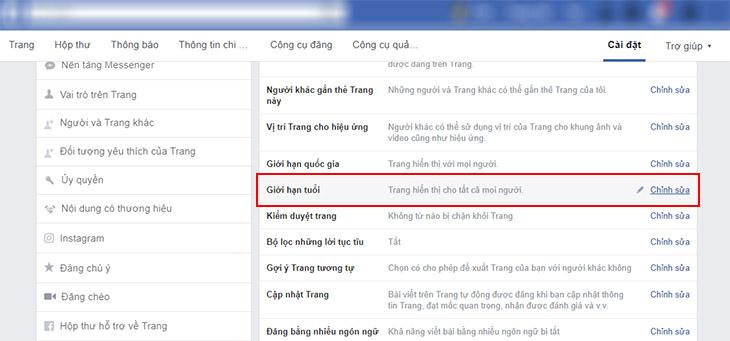 khac phuc fanpage facebook bi an