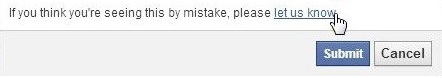 mở khóa website khi bị facebook chặn domain