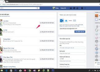 cách xóa hàng loạt lời mời kết bạn facebook đã gửi